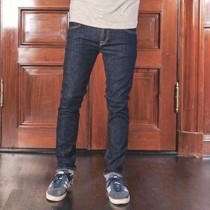 Nudie Tube Kelly Organic Dark Blue Jeans